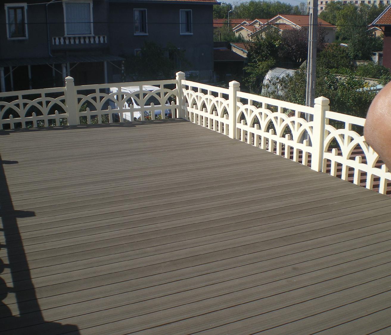 Terrasse bois bois composite ipe pin autoclave - Lame composite twinson ...